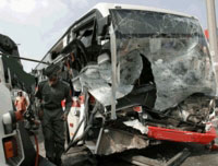 accidents involving trucks or buses can cause severe injuries