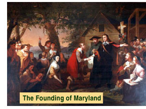 The Founding of Maryland